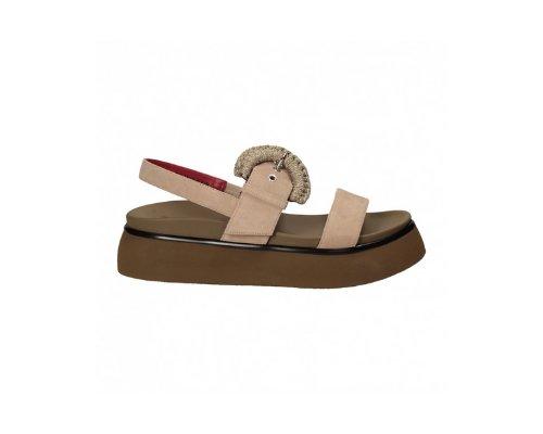 Keilabsatz-Sandalen von Alberto Gozzi