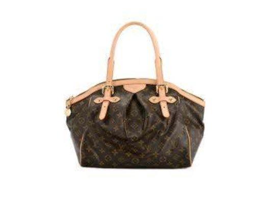 Klassische Louis Vuitton Tivoli Tasche in Braun-Beige mit LV-Monogram