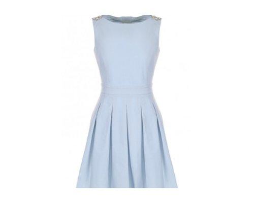 kleid in Blau  von Bluegirl