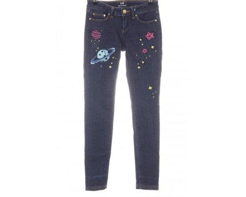 Lee Blue Jeans mit klassischem Leder-Patch