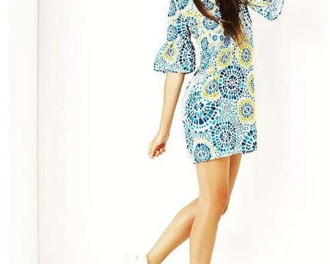 Lockeres Freizeitkleid im Batik-Look von Cristina Gavioli