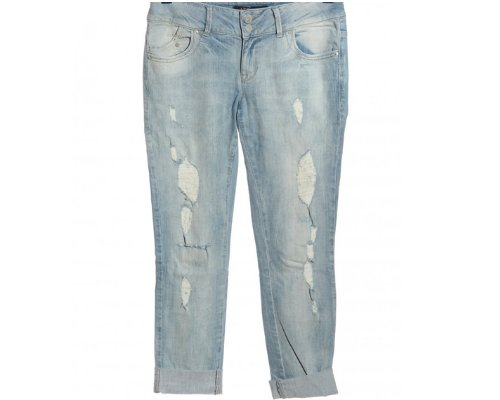 LTB Molly Blue Jeans im Destroyed Look