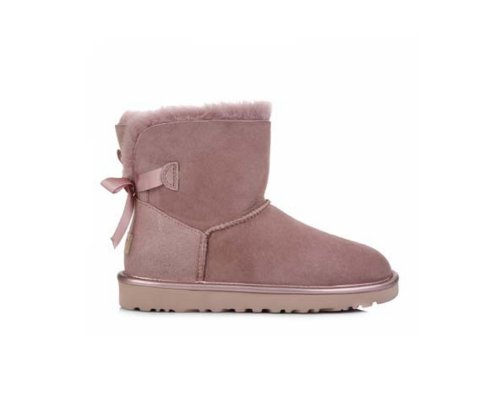 LUGG Australia Bailey Bow Boots in Lila