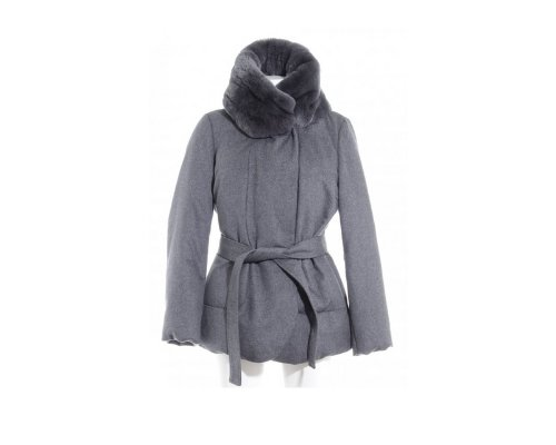 Mantel mit Pelzbesatz von Armani Collezioni