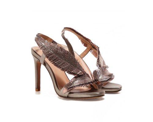 Metallic High Heels von Alma en Pena