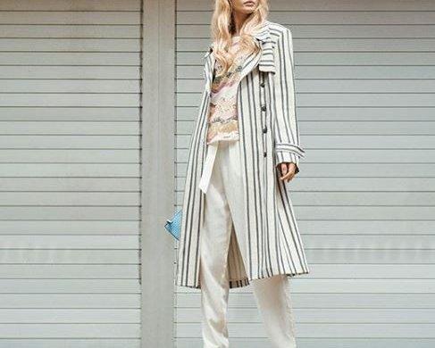 Must Have Striped Mantel von Claire.dk