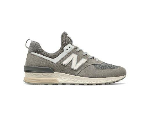 New Balance 574 in Grau-Metallic