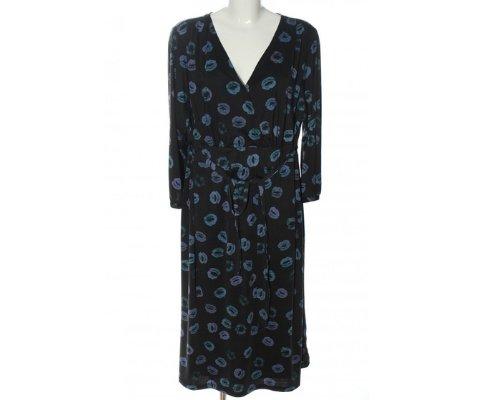 New York Style mit blauem kisses Kleid von Anna Scholz for Sheego