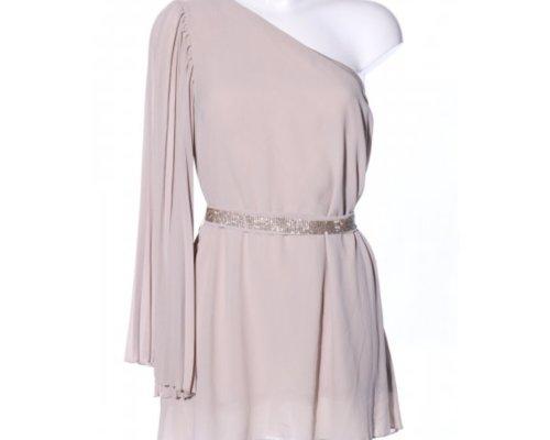 One Shoulder Kleid von Classic Tricot