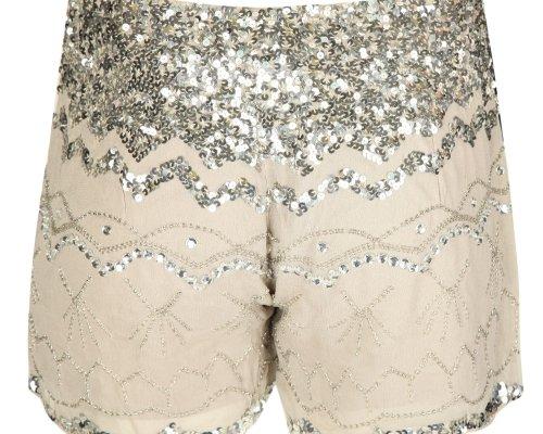Pailletten Shorts von Be Lounged