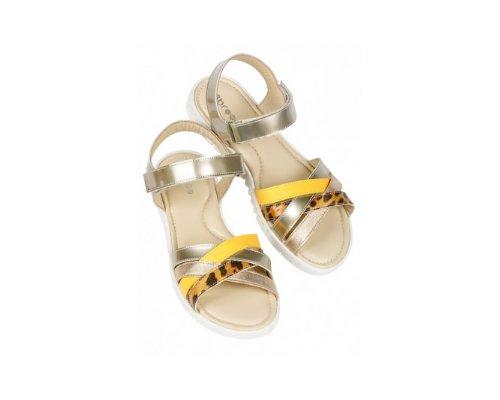 Plateau Sandalen mit Korkabsatz von Street Shoes