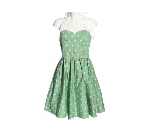 Polka Dot Pettycoat Kleid von Dolly and Dotty