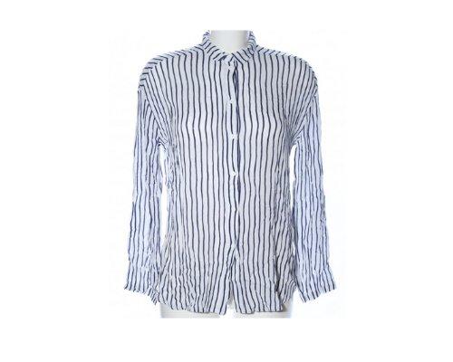 Print-Shirt und Jeansshort von American Vintage
