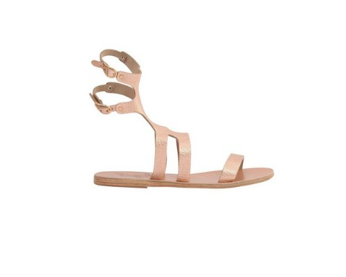 Sandaletten in Gold von Ancient Greek Sandals.