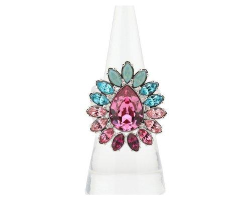 Ring mit Swarowski Kristallen von Cadenzza