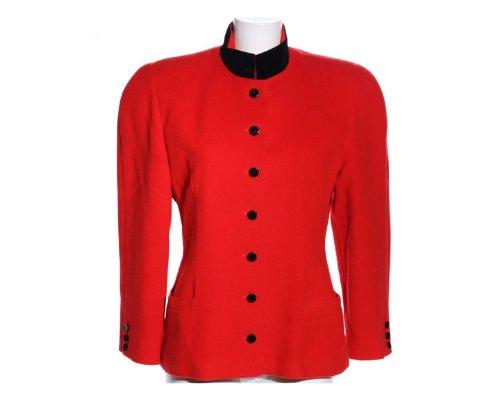 Rote Vintage Blazer von Eickhoff