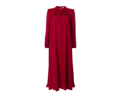 rotes Kleid aus Valentino