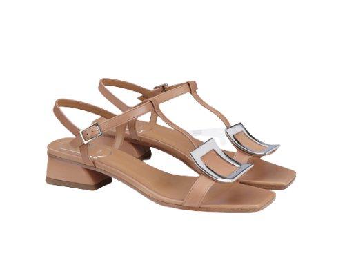 Sandalette des Luxuslabels Roger Vivier.