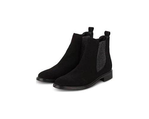 Schicke Ankle Boots in schwarz von Darling Harbour.
