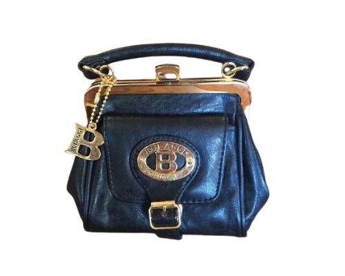 Schlichte Taschen mit Metallic-Details von Bulaggi