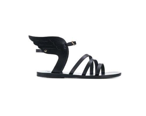 schwarz sandalen von Ancient Greek Sandals.