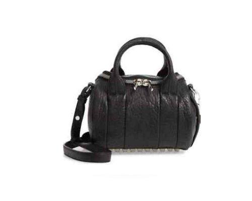 Schwarze Alexander Wang Rockie Handtasche