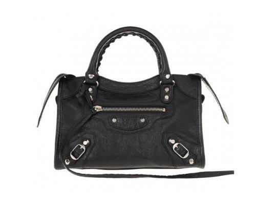 Schwarze Balenciaga City Bag