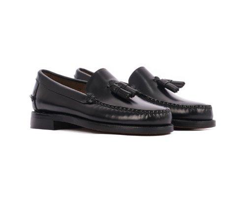 Schwarze Caspian Loafer aus Leder von Sebago.