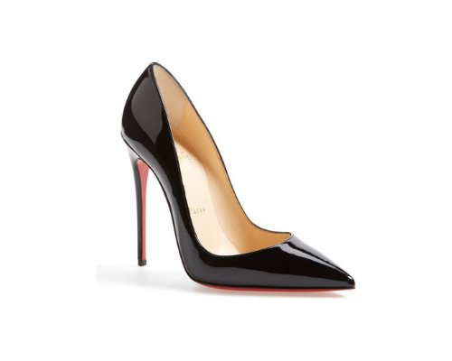 Schwarze Christian Louboutin So Kate Pumps