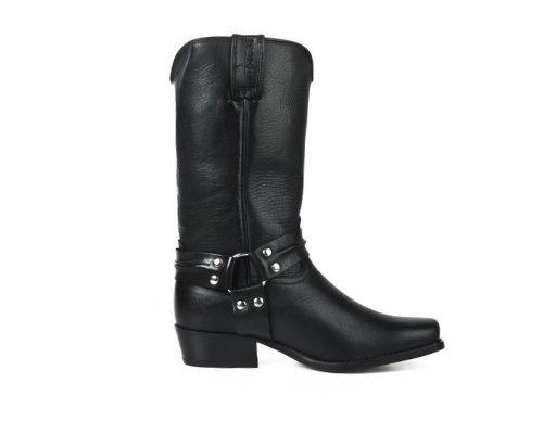 Schwarze Cowboy-Boots von Joe Sanchez