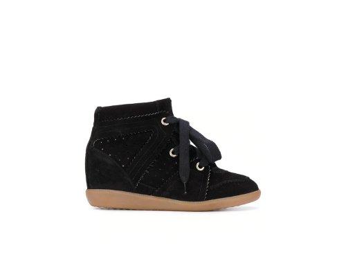 Schwarze Isabel Marant Bobby Sneaker