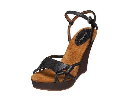 schwarze  Sandalen  von Biviel