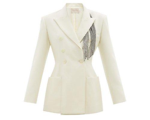 Haute Couture Smoking Blazer mit den Kristallhersteller Swarovski von Christopher Kane