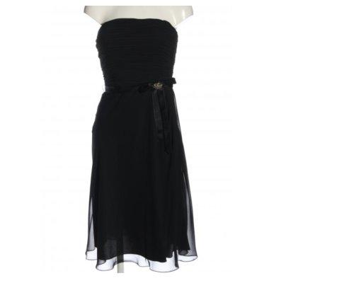 Schwarzes Schulterfreies Kleid von Balina
