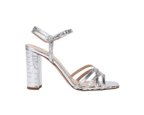 Silber Sandallen von Bianca D.