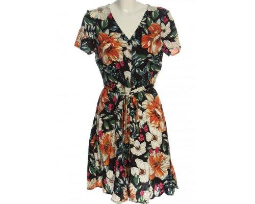 Sommerliches Blusenkleid mit Floralprint von Camaieu.