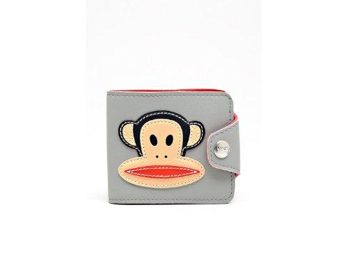 Süßes Portemonnaie mit renommierten Äffchenmotiv von Paul Frank
