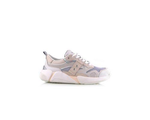Super schicker Sneaker von Blauer in gold-weiß