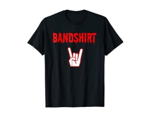 T-shirt von Bandshirt