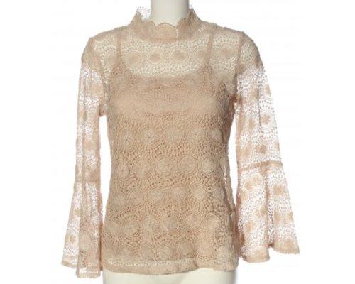 Transparente Bluse von Adiva