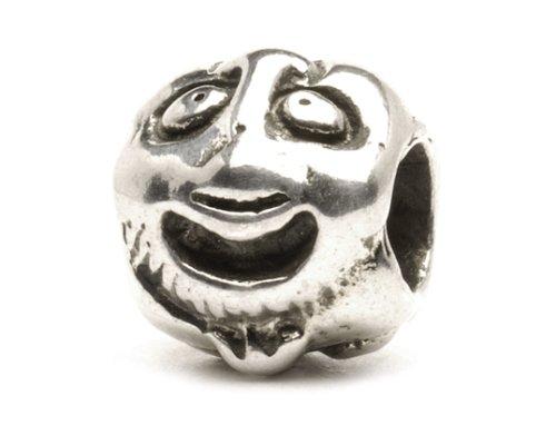 Trollbead Silberperle mit den sechs Gesichtern