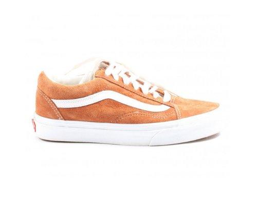 Vans Old Skool Platform Sneaker in Orange
