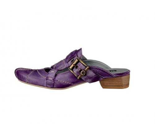 Violette Pantolette von 10 Dence