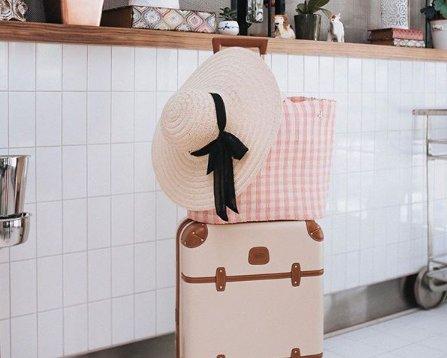 We all love Pink! Koffer und Reisetaschen von Bric's