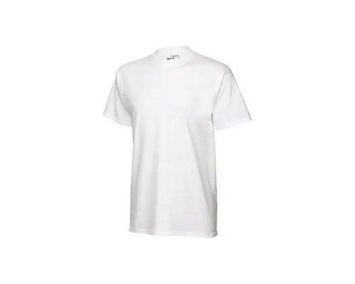 Weißes T-Shirt von Hanes