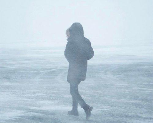 Winterjacke mit Fellkapuze von Elvine