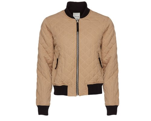 Wood Wood coole Bomberjacke