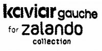 Kaviar Gauche for Zalando