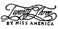 Twenty Three by Miss America