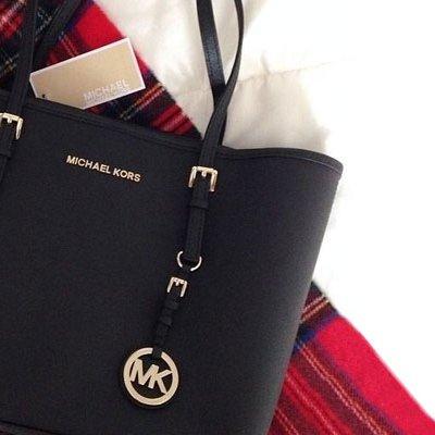 michael kors schwarze handtasche klein fake
